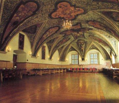 Рыцарский зал и трапезная