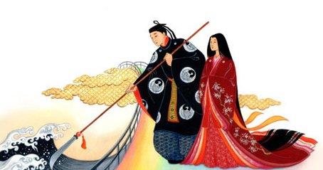 Японская мифология: центральный миф
