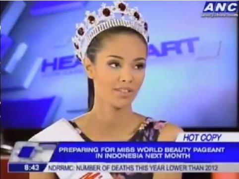 Новая королева красоты придерживается традиционных ценностей