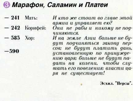 Марафон, Саламин и Платеи