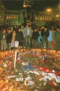 ПРАГА, 21 НОЯБРЯ 1989 г.